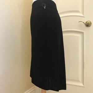 NWOT Max Studio hi low knit skirt